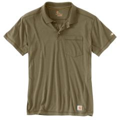 Men's Force Rugged Flex Pocket Polo