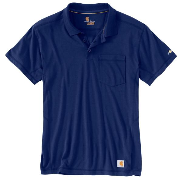 Carhartt Men's Force Rugged Flex Pocket Polo