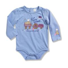 Infant Girls' Long Sleeve Bodyshirt