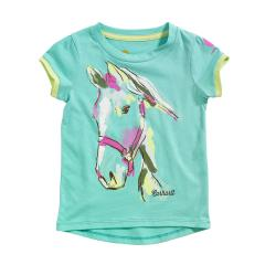 Toddler Girls' Painted Horse Tee