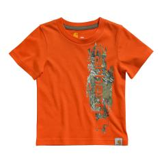 Toddler Boys' Vertical Camo Graphic Tee
