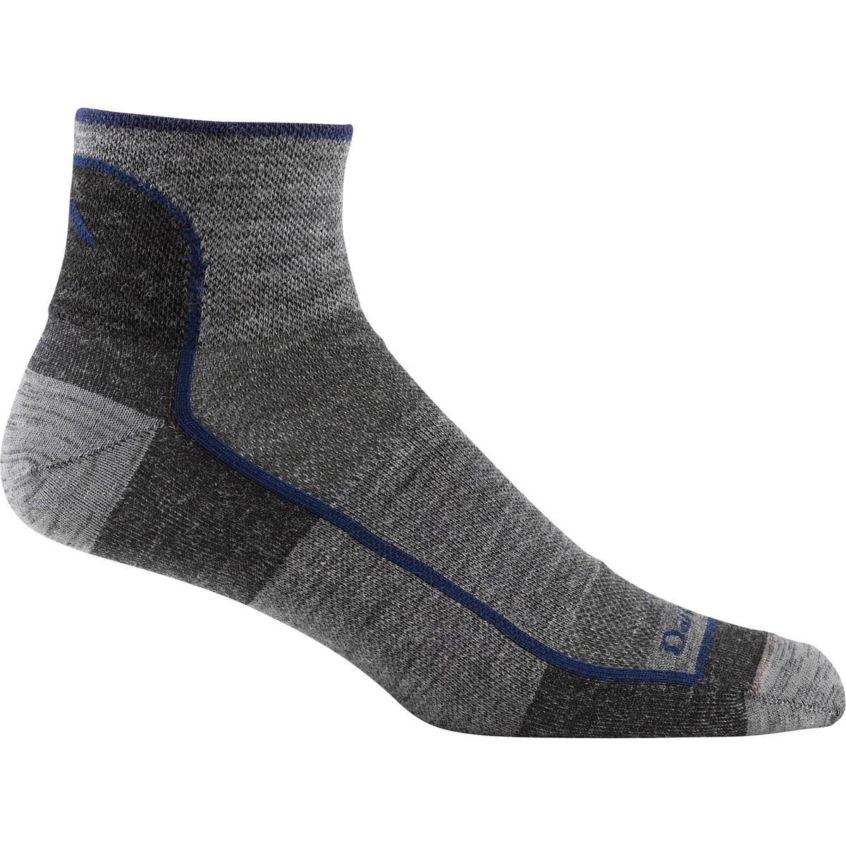 Darn Tough Vermont Men's Merino Wool Quarter Sock Ultra Light