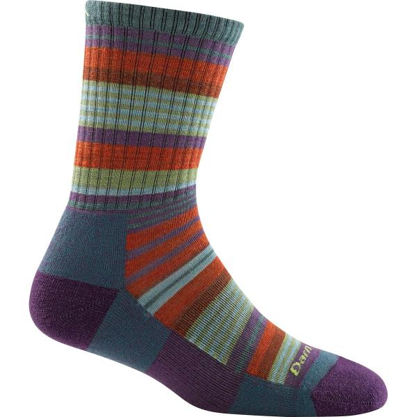Darn Tough Vermont Women's Light Hiker Sierra Stripe Micro Crew