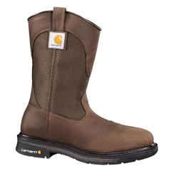 Men's 11 Inch Square Toe Wellington Steel Toe