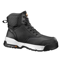 Men's 6 Inch Black Waterproof Work Boot Composite Toe