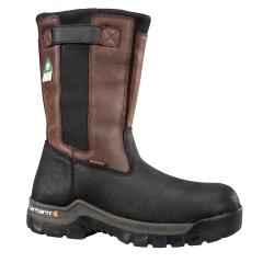 Carhartt Men's 10 Inch Rugged Flex Waterproof Insulated CSA Pull-On Composite Toe