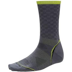 SmartWool Men's PhD Cycle Ultra Light Pattern Crew
