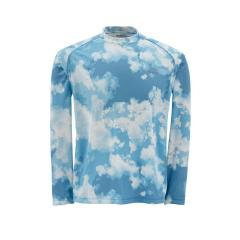 Simms Men's Solarflex Long Sleeve Crewneck Prints