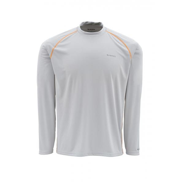Simms Men's Solarflex Long Sleeve Crewneck Solid