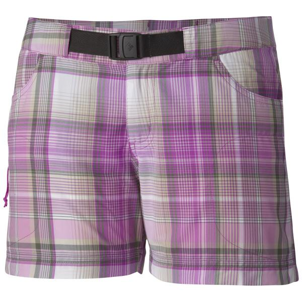 Columbia Women's Cross On Over II Plaid Short