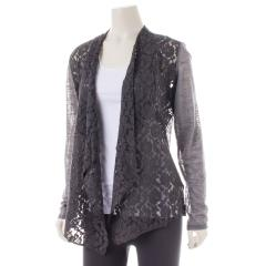 Women's Front Lace Cardigan