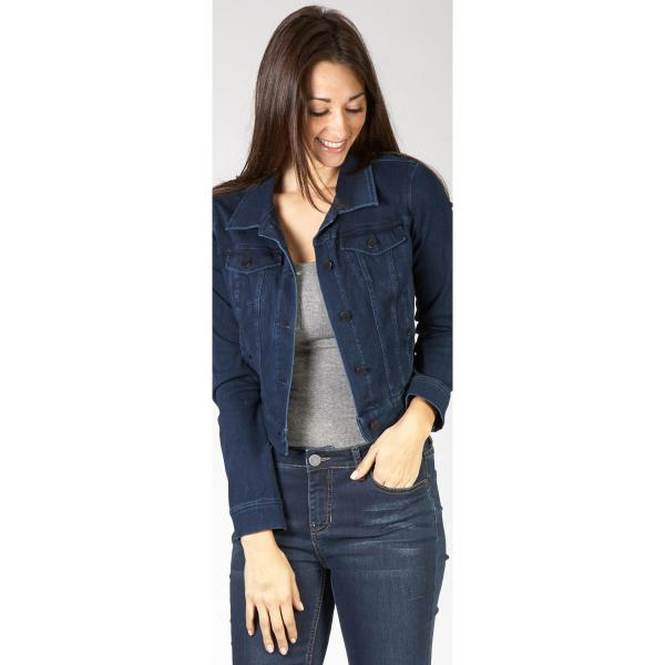 Liverpool Jeans Company Women's Cropped Denim Jacket