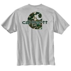 Men's Workwear Graphic Digi Camo Short Sleeve T-Shirt