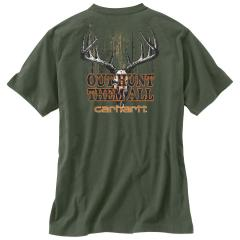 Men's Maddock Graphic Out Hunt Pocket Short Sleeve T-Shirt