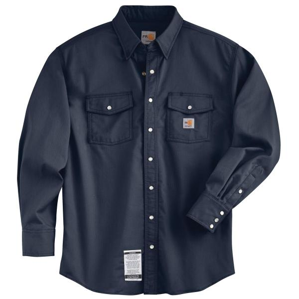 Carhartt Men's Flame Resistant Snap Front Shirt