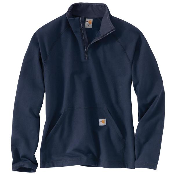 Carhartt Men's Flame Resistant Force Fleece Quarter Zip Pullover