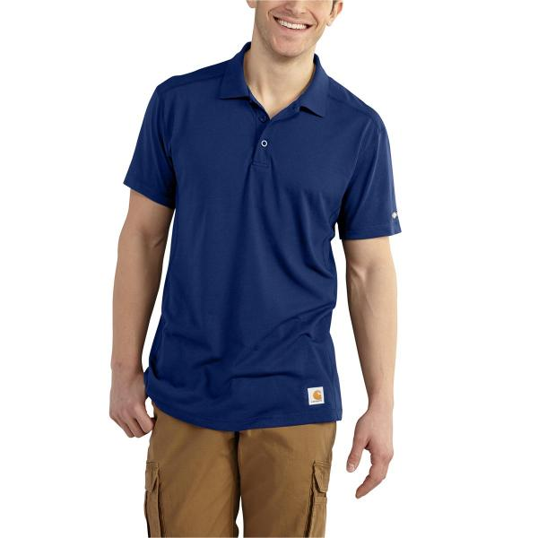 Carhartt Men's Force Rugged Flex Non Pocket Polo