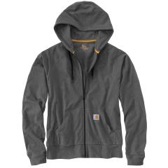 Carhartt Men's Force Cotton Delmont Zip-Front Hoodie