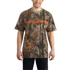 Men's Workwear Graphic Signature Camo Short Sleeve T-Shirt - Discontinued Pricing