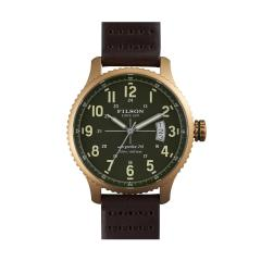 The Mackinaw Field Watch Bridle Leather Strap