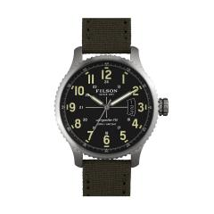 Filson The Mackinaw Field Watch Tin Cloth Strap