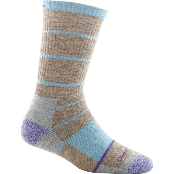 Darn Tough Vermont Women's Summit Stripe Boot Sock Full Cushion