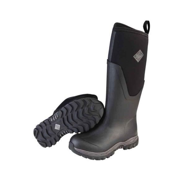 Muck Boot Company Youth Rugged II Black Boot