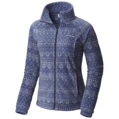 Women's Benton Springs Print Full Zip - Extended Sizes