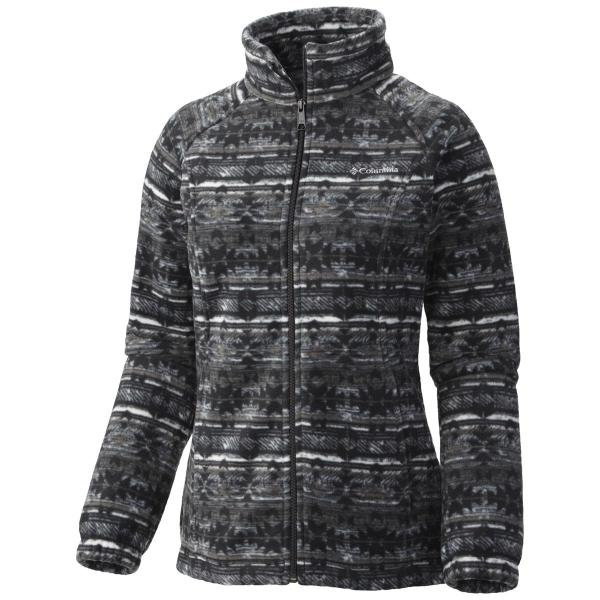 Columbia Women's Benton Springs Print Full Zip - Extended Sizes