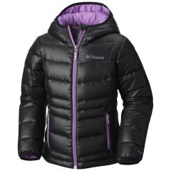 Columbia Youth Girls' Gold 550 TurboDown Hooded Jacket