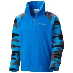 Youth Boys' Glacial II Print Half Zip