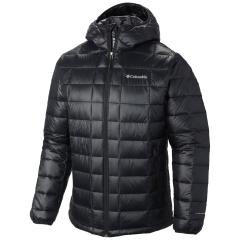 Columbia Mens' Trask Mountain 650 TurboDown Hooded Jacket