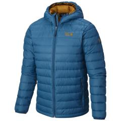 Men's Micro Ratio Hooded Down Jacket