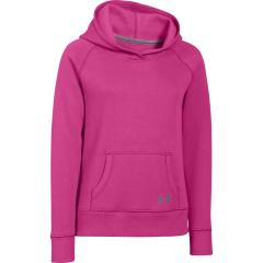 Girls' Rival Cotton Solid Hoodie