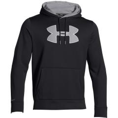 Men's UA Storm Armour Fleece Big Logo Hoodie