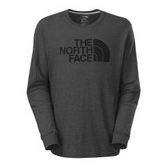 Men's Long Sleeve Half Dome Logo Tee