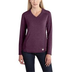 Women's Force Long Sleeve V-Neck T-Shirt