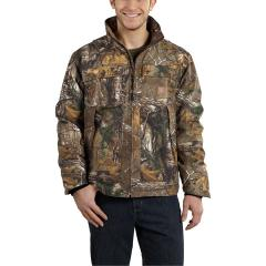 Carhartt Men's Quick Duck Camo Traditional Jacket - Discontinued Pricing