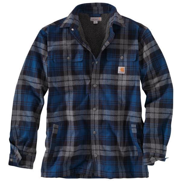Carhartt Men 39 S Hubbard Sherpa Lined Shirt Jac