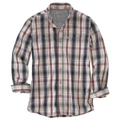 Men's Force Mandan Plaid Long Sleeve Shirt