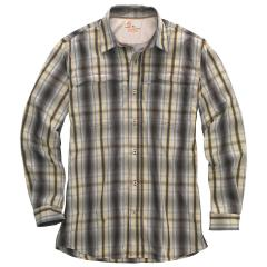 Carhartt Men's Force Mandan Plaid Long Sleeve Shirt