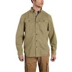 Carhartt Men's Long Sleeve Solid Work Shirt