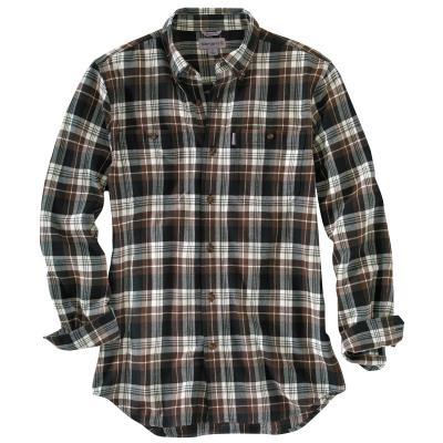 Carhartt Men's Trumbull Plaid Shirt