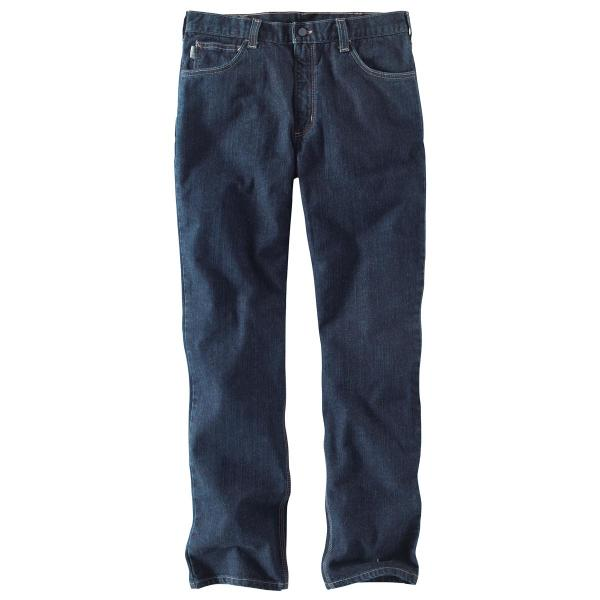 Carhartt Men's FR Rugged Flex Jean Straight Traditional Fit
