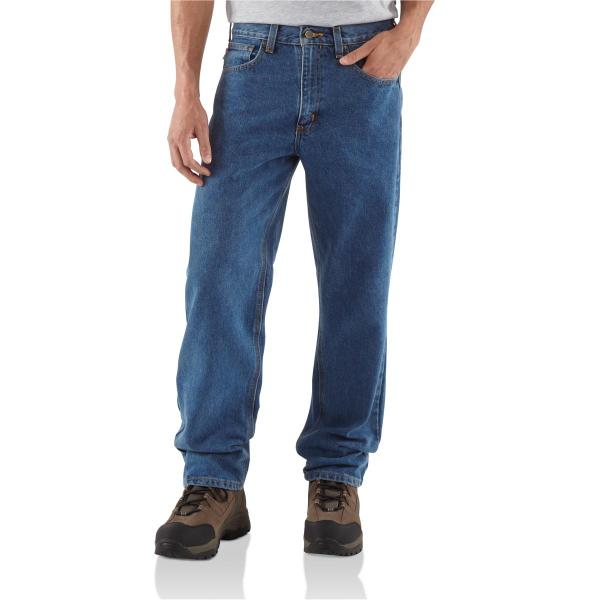 Carhartt Men's Relaxed Fit Jean Straight Leg