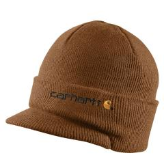 Knit Hat with Visor - Past Season