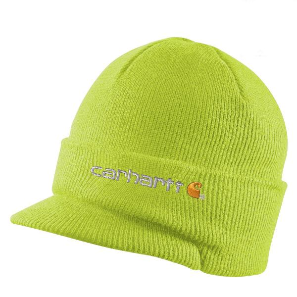 Carhartt Knit Hat with Visor - Past Season