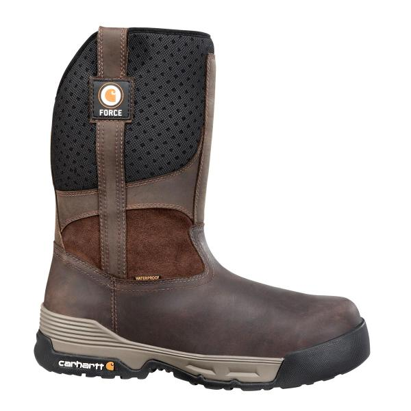 Carhartt Men's 10 inch Waterproof Pull On Composite Toe