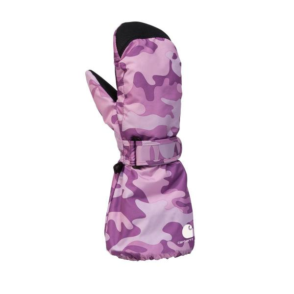 Carhartt Toddler Girls' Camo Mitt