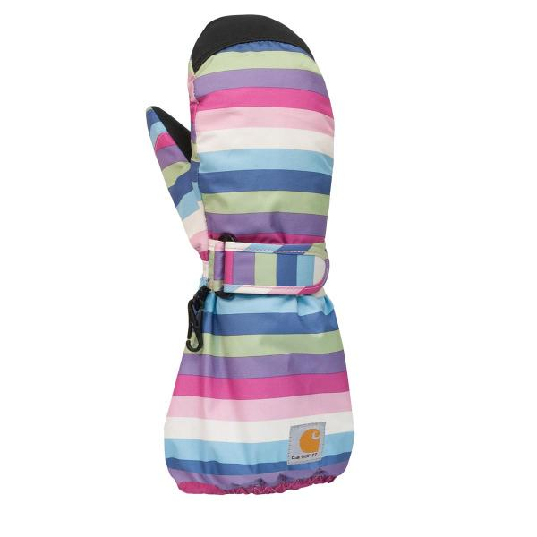 Carhartt Toddler Girls' Stripes Mitt